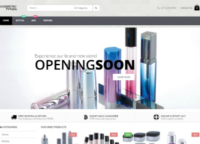 Cosmetic E-commerce